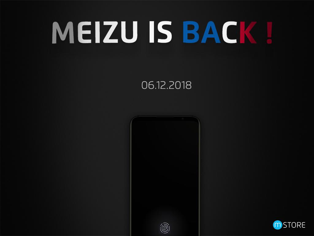 Meizu de retour en France