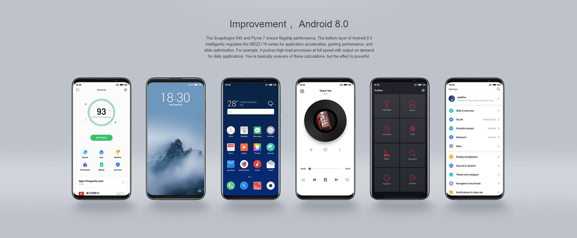 Meizu 16th - android 9
