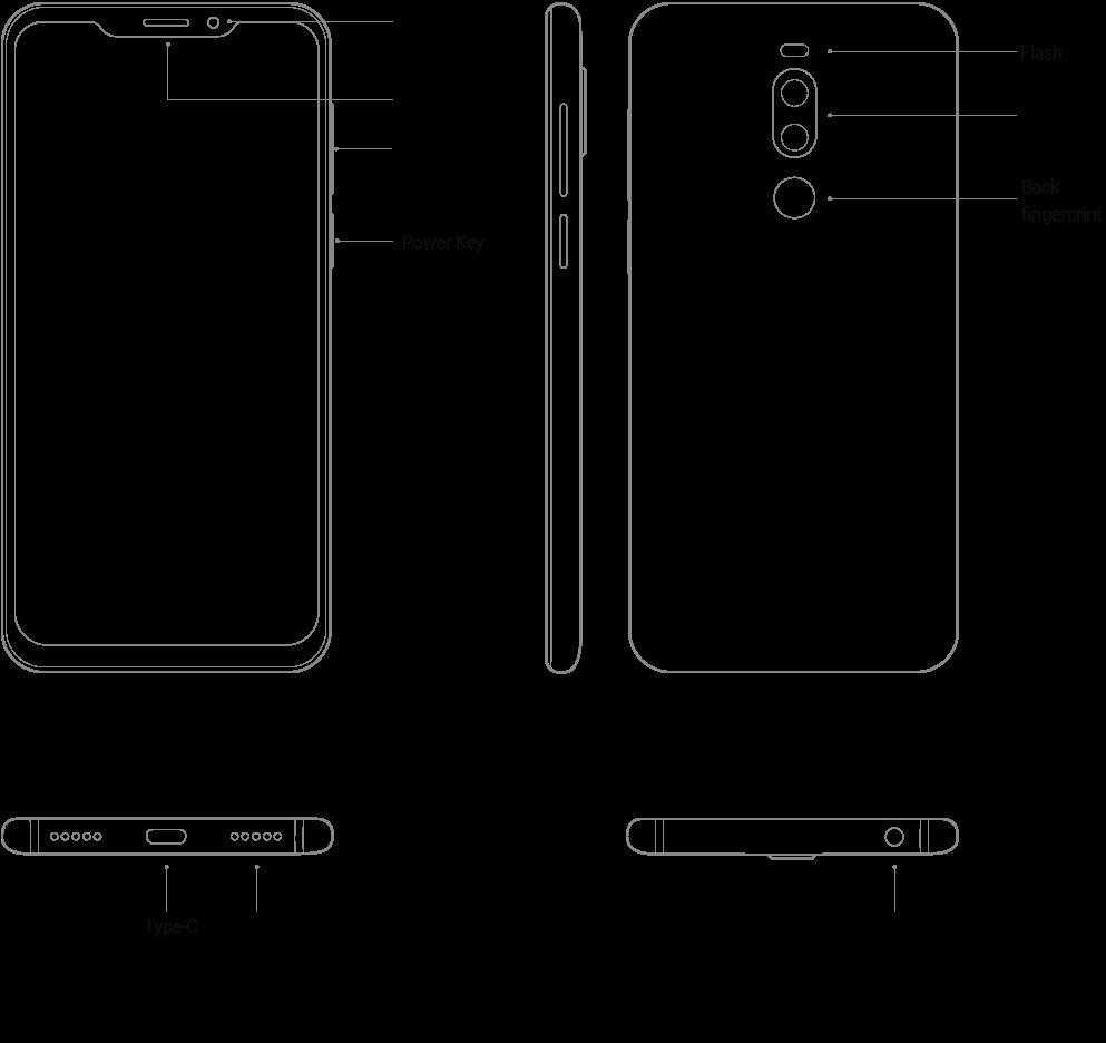 Meizu X8 aperçu