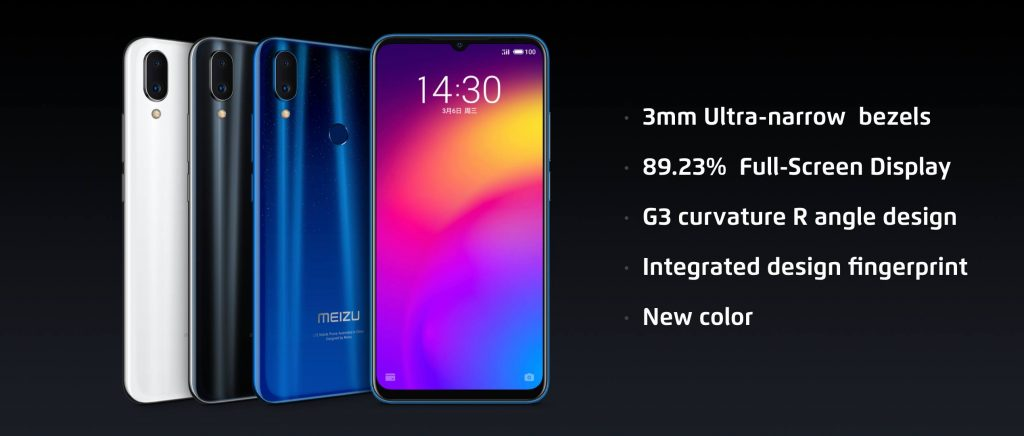 Meizu Note 9 écran