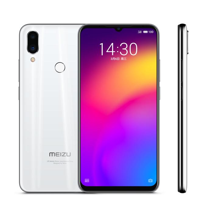 Meizu Note 9 blanc