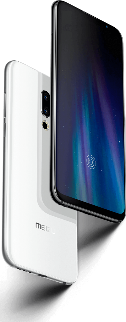 Meizu 16th fingerprint reader